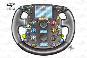 Ferrari F2002 (653) 2002 steering wheel