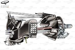 Conduit de frein arrière de la Red Bull RB7