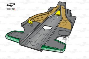Benetton B199 1999 floor