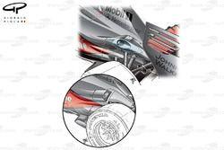 McLaren MP4-24 2009 exhaust development
