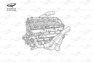Williams FW26 2004 BMW engine