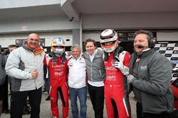 Pepe Oriola, Lukoil Craft-Bamboo Racing, SEAT León TCR and Hugo Valente, Lukoil Craft-Bamboo Racing, SEAT León TCR