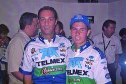 Carlos Slim Domit e Sergio Perez