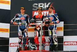 Podyum: Yarış galibi Michael Rinaldi, Aruba.it Racing Junior Team, 2. Florian Marino, Pata Yamaha Of