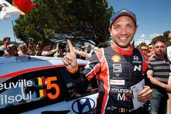 Le vainqueur Nicolas Gilsoul, Hyundai Motorsport