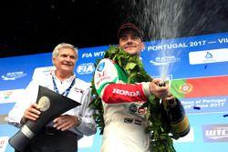 Norbert Michelisz, Honda Racing Team JAS, Honda Civic WTCC, mit Alessandro Mariani, Honda Team JAS,