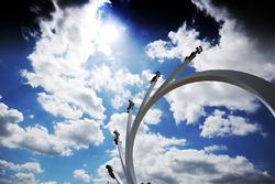 Bernie Ecclestone - Escultura