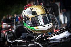 Helmet of Keyvan Andres Soori, Motopark, Dallara F317 - Volkswagen