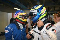 Jacques Villeneuve, F1 Experiences 2-Seater Driver and Zsolt Baumgartner, F1 Experiences 2-Seater dr