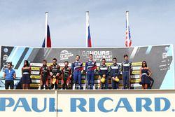 Podium: winnaars Matevos Isaakyan, Egor Orudzhev, SMP Racing, tweede plaats Memo Rojas, Nicolas Mina