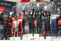 Silver Cup podium: winners Edward Sandström, Fabian Schiller, HTP Motorsport