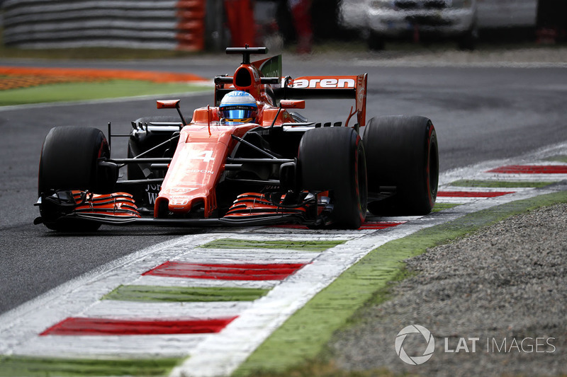 After Alonso was informed of Palmer's penalty