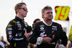 John Hunter Nemechek, SWM-NEMCO Motorsports Chevrolet and Joe Nemechek