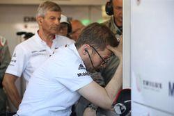 Fritz Enzinger, Head of Porsche LMP1, Andreas Seidl, Team Principal LMP1 Porsche Team