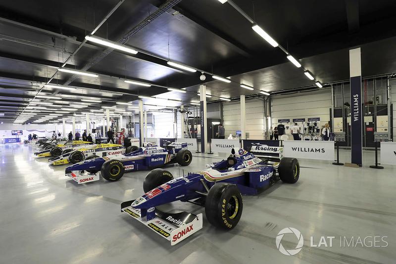 Коллекция автомобилей Williams