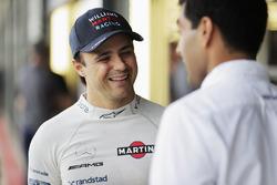 Felipe Massa, Williams, Karun Chandhok