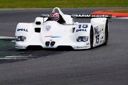 Steve Soper rijdt de 1999 BMW V12 LMR