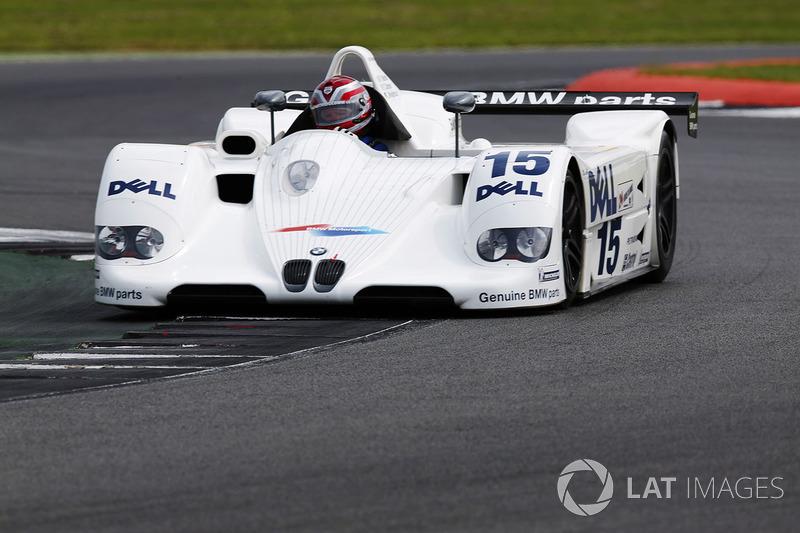 Steve Soper drives the 1999 BW V12 LMR