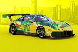 #99 Craft-Bamboo Racing Porsche 911 GT3 R