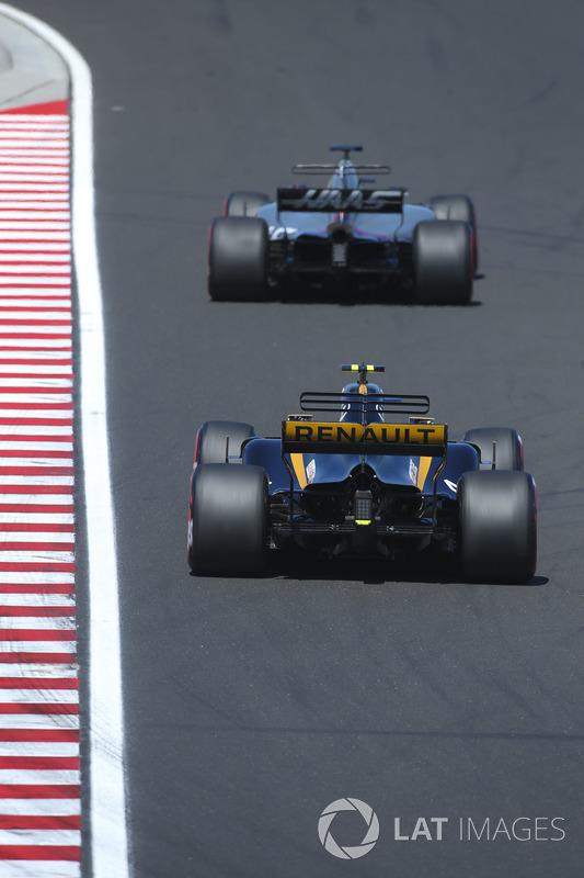 Ромен Грожан, Haas F1 Team VF-17, Джоліон Палмер, Renault Sport F1 Team RS17