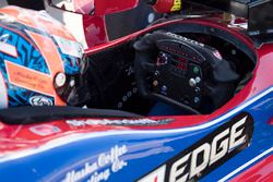 Alexander Rossi, Herta - Andretti Autosport Honda steering wheel