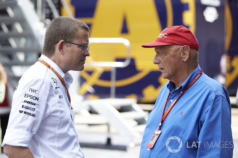 Niki Lauda, Presidente Non Esecutivo, Mercedes AMG F1