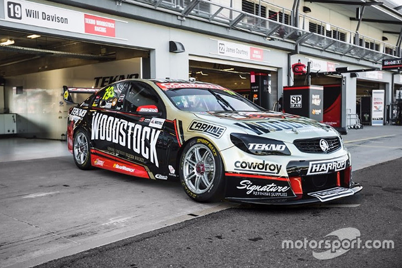 Tekno Autosports livery at Townsville