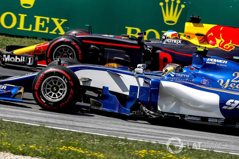 Паскаль Верляйн, Sauber C36, Даніель Ріккардо, Red Bull Racing RB13