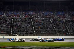 Scott Dixon, Chip Ganassi Racing Honda, Will Power, Team Penske Chevrolet, Simon Pagenaud, Team Penske Chevrolet, Max Chilton, Chip Ganassi Racing Honda, Takuma Sato, Andretti Autosport Honda