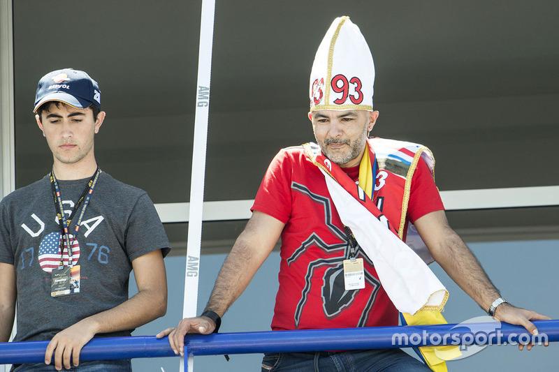 Un tifoso di Marc Marquez
