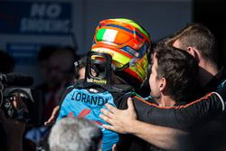 Alessio Lorandi, Jenzer Motorsport in parc ferme