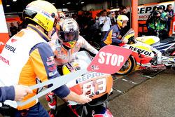 Marc Marquez, Repsol Honda Team en el parque cerrado