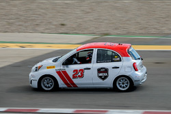 Nissan Micra Cup testing