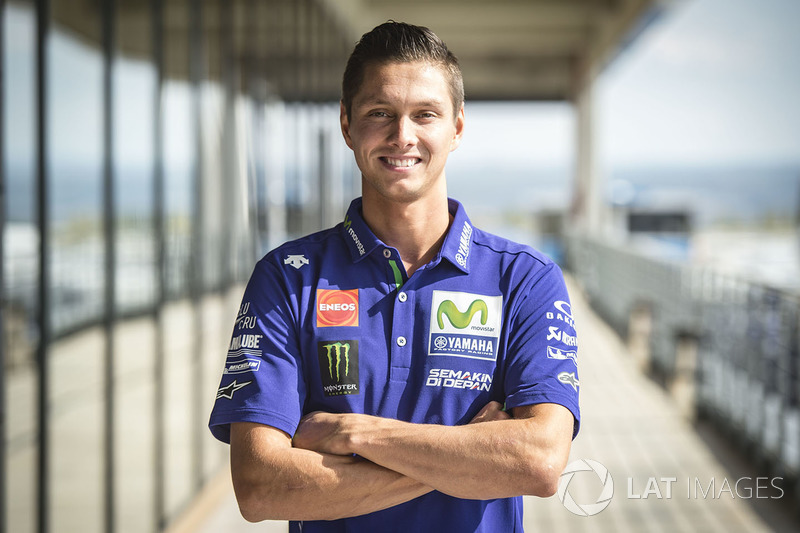 Michael van der Mark en Aragón el pasado septiembre