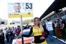 Pitspoes van Jamie Green, Audi Sport Team Rosberg, Audi RS 5 DTM