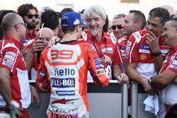 Le troisième, Jorge Lorenzo, Ducati Team, Gigi Dall'Igna, directeur général Ducati Team