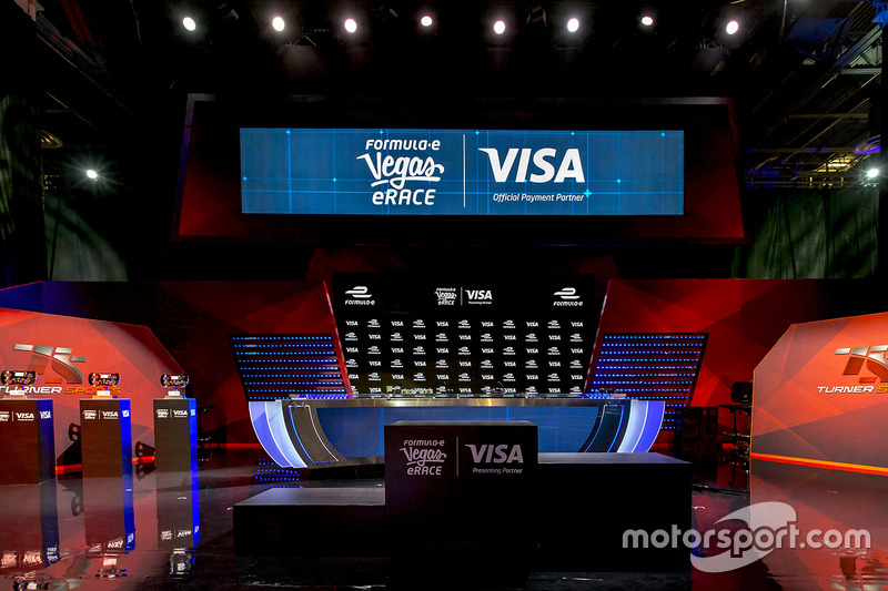 The Vegas eRace stage