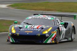 #51 Spirit of Race Ferrari 488 GT3: Peter Mann, Maurizio Mediani