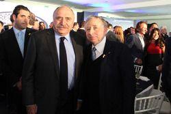 José Abed, FIA México Başkan yardımcısı ve Jean Todt, FIA Başkanı