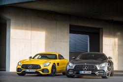Mercedes-AMG GT C Edition 50 e la Mercedes-AMG GT S