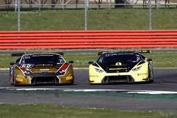 #60 Raton Racing, Lamborghini Huracan GT3: Andrea Amici, Dennis Lind, Stefano Costantini and #77 Bar