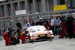 Arrêt au stand de Jamie Green, Audi Sport Team Rosberg, Audi RS 5 DTM