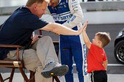 Leyenda de Indianápolis de Estados Unidos, Dave Furst, Tony Kanaan, Chip Ganassi Racing Honda y hijo