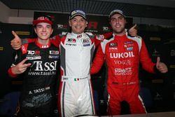 Podyum: Yarış galibi Roberto Colciago, M1RA, Honda Civic TCR, 2. Attila Tassi, M1RA, Honda Civic TCR