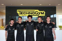 Jonathan Giacon, Dinamic Motorsport, Daniele Cazzaniga, Ghinzani Arco Motorsport, Alessio Rovera, Ts