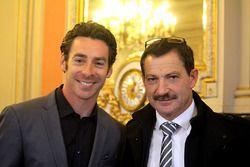 Simon Pagenaud with his fahter Christian Pagenaud