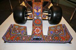 An art show car on display at an Inter / Sahara Force India F1 Team event