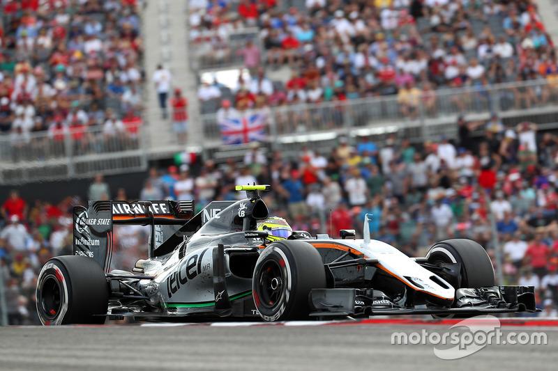 8e - Sergio Pérez (Force India)