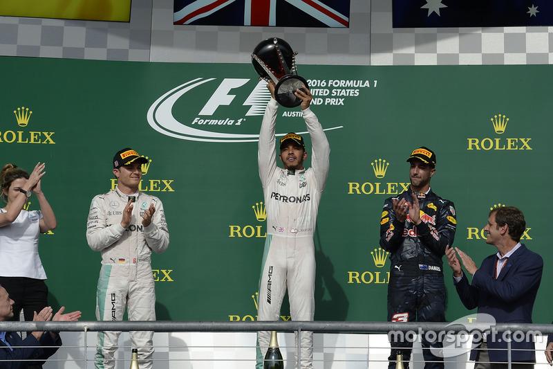 54 (2016) GP de Estados Unidos Primer lugar