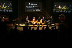 David Croft, comentarista de Sky Sports, Ellie Jean Coffey, Jolyon Palmer, Renault Sport F1 Team, Ke